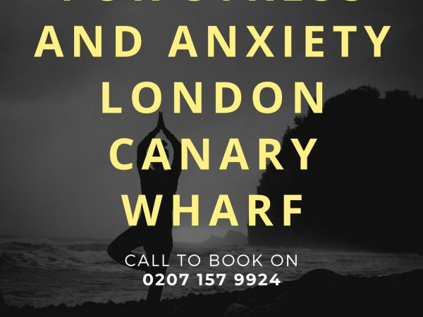 Meditation for Stress and Anxiety – Canary Wharf, East London