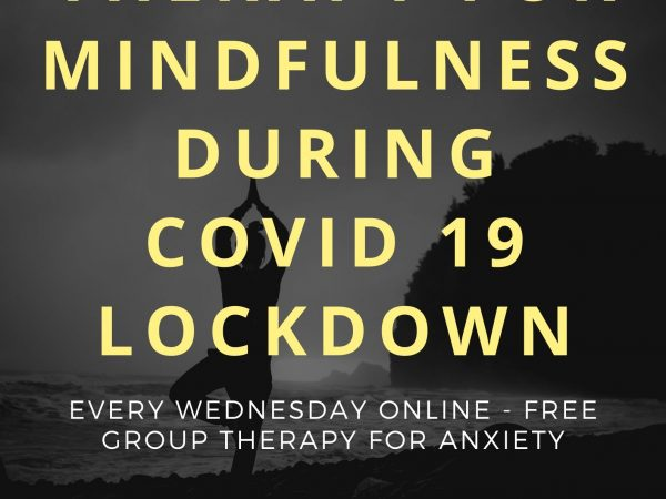 Corona Virus Anxiety London – Free Mindfulness Therapy Online Every Wednesday